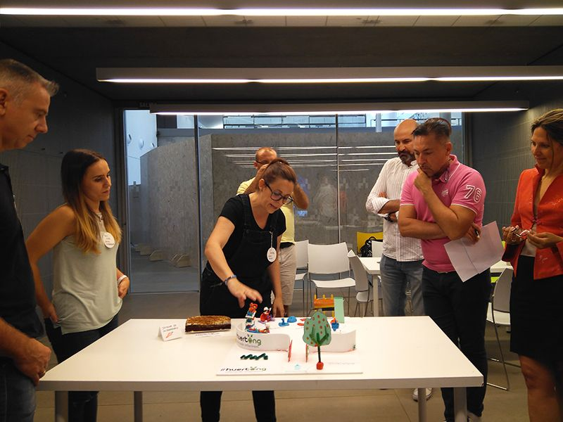 Taller de Design thinking en Factoría Cultural