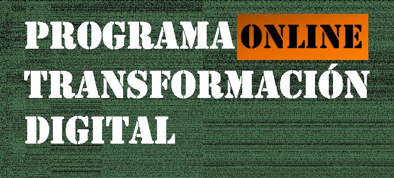 Logo programa transformación digital